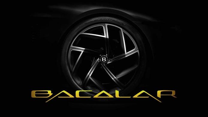 Bentley Mulliner Bacalar: así se llama el nuevo y enigmático Gran Turismo de Bentley
