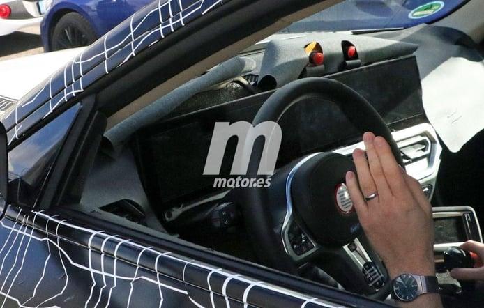Nuevas fotos espía permiten ver el interior del nuevo BMW i4