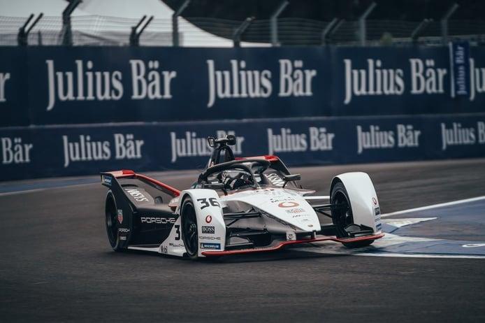 Lotterer brinda a Porsche su primera Superpole en el ePrix de Ciudad de México