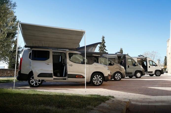 Gama Camper de Citroën, preparada para disfrutar de la aventura