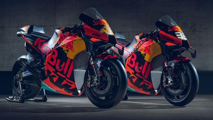 KTM y Tech 3 muestran las decoraciones de sus MotoGP de 2020