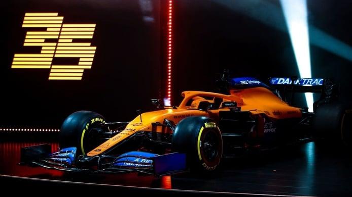 El porqué de la pintura mate del McLaren y otros cambios técnicos del MCL35