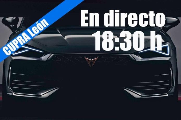 Sigue en directo la presentación del nuevo CUPRA León
