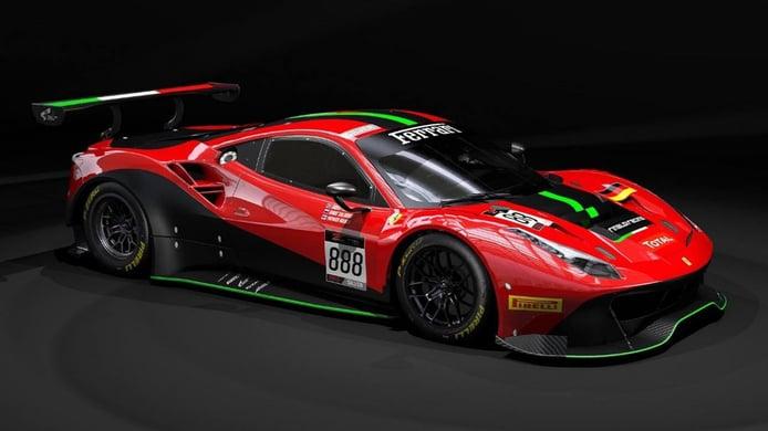 Rinaldi Racing correrá con dos Ferrari en el GT World Challenge Europe