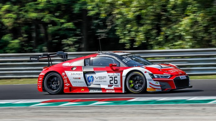 Saintéloc mantiene su apuesta en el GT World Challenge Europe con Audi