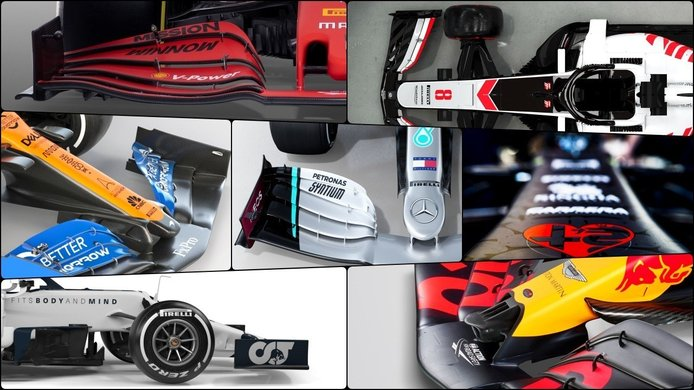 Tendencias F1 2020: morro y alerón delantero