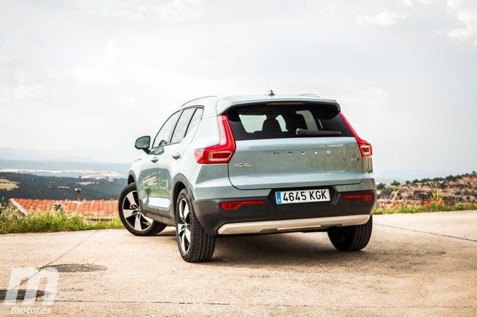 El nuevo Volvo XC40 T2, la versión de gasolina más básica, ya tiene precios en España