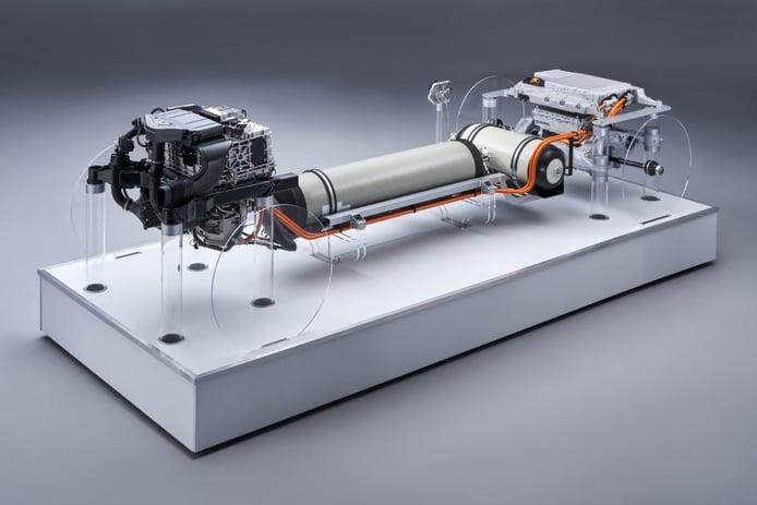 BMW desvela los detalles técnicos de la pila de hidrógeno del i Hydrogen NEXT