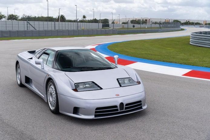 Un 'demo car' original del Bugatti EB110 aparece a la venta en EEUU