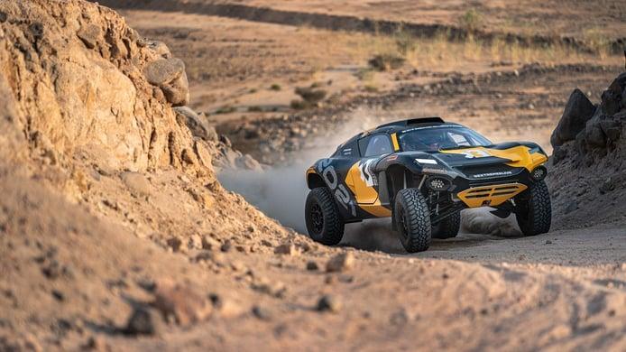 Continental avanza en el desarrollo de los neumáticos de Extreme E