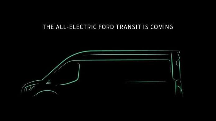 Ford vuelve a anunciar la futura Transit eléctrica