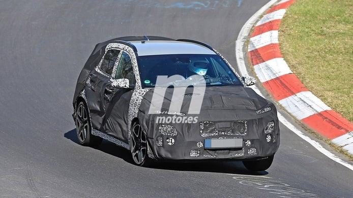 ¡A fondo! El esperado Hyundai Kona N se enfrenta al trazado de Nürburgring