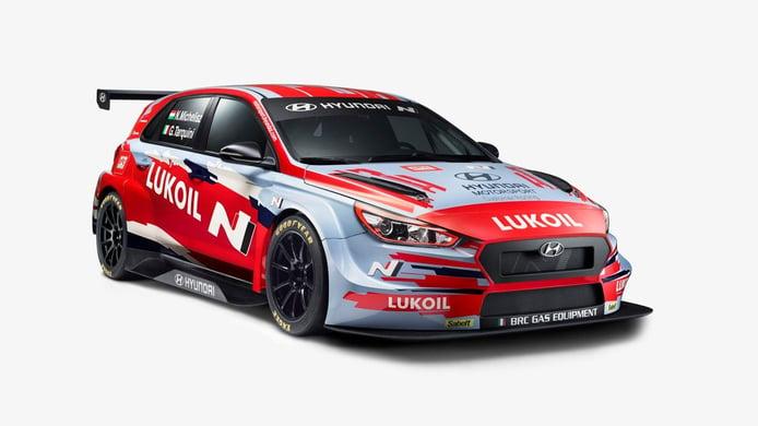 Hyundai Motorsport muestra la librea de sus coches para el WTCR 2020