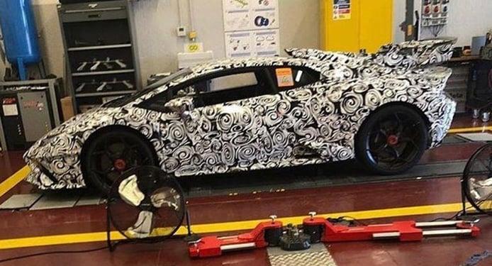 Primeras imágenes: el sucesor del Lamborghini Huracán Performante ya está listo