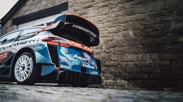 M-Sport trabaja en su 'Rally1' de 2022 con una plantilla reducida