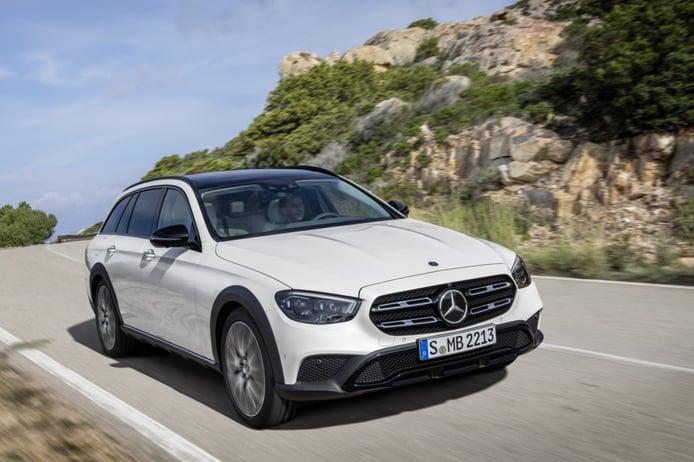 Mercedes Clase E All terrain 2020, nueva imagen más propia de un SUV