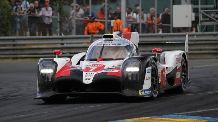 Los pilotos de Toyota celebran el formato de 'hyperpole' de Le Mans