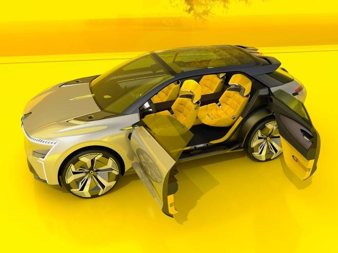 Renault Morphoz: el primer crossover eléctrico extensible del mundo