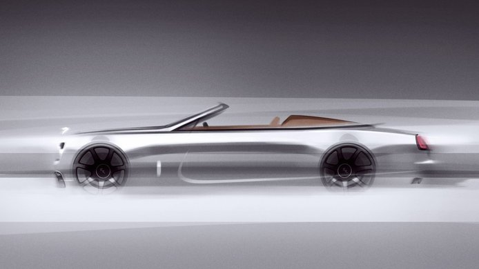 Rolls-Royce avanza unos teasers de la nueva edición especial Dawn Silver Bullet Collection