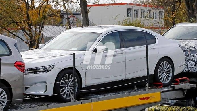 El futuro BMW i7 llegará en 2023 con hasta tres versiones