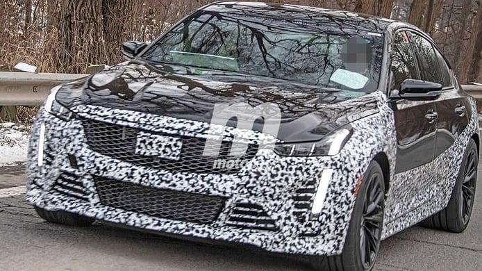 El Cadillac CT5-V Blackwing montará un V8 sobrealimentado de 659 CV