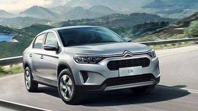 Filtrado el nuevo Citroën C3L, un sedán «crossoverizado» para China