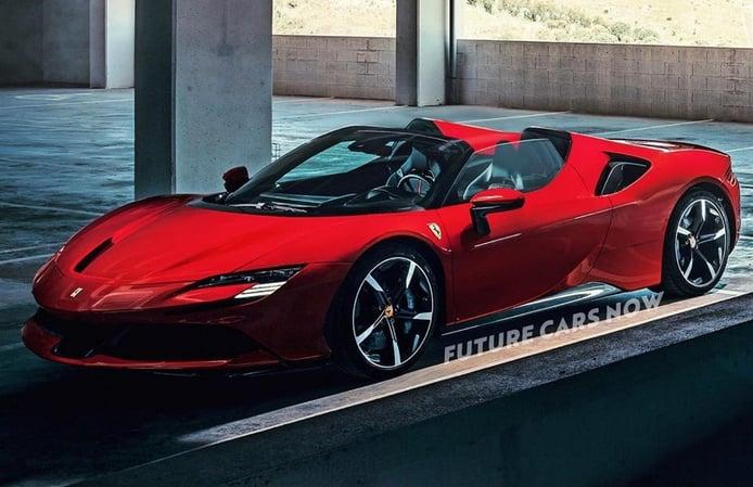 Así será el futuro Ferrari SF90 Spider que ya está en desarrollo