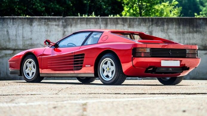 Amores de juventud: el Ferrari Testarossa