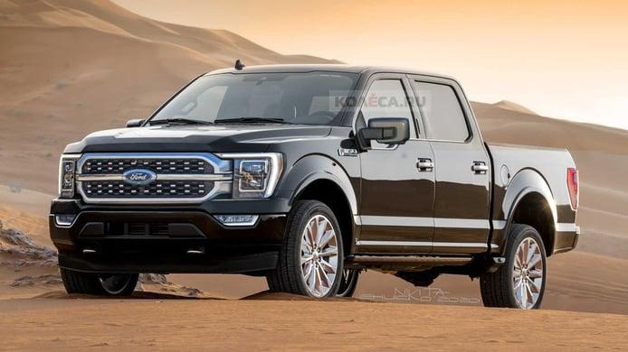 Filtradas las principales novedades de la gama 2021 del Ford F-150