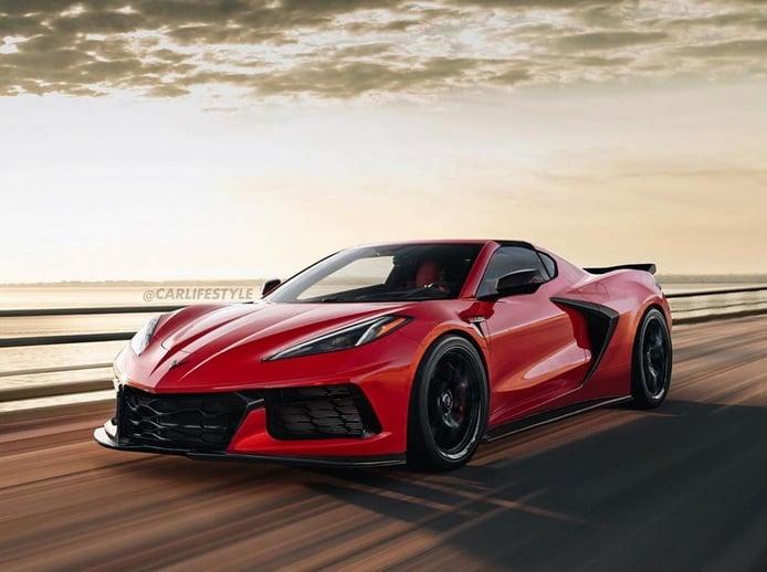 Se filtran todas las versiones y mecánicas de la gama Corvette C8 al completo