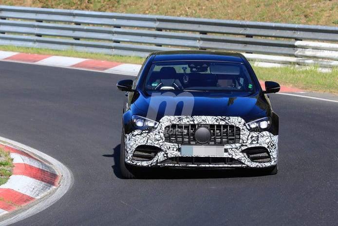 El nuevo Mercedes-AMG E 63 Facelift, cazado casi al descubierto en Nürburgring