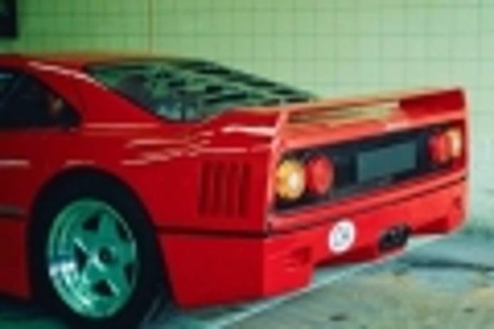 Los extravagantes Ferrari F40 amputados de Suiza