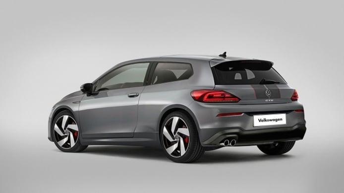 Recreación del Volkswagen Scirocco 2020