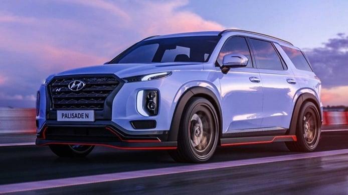 Los Hyundai Palisade N y NEXO N, reproducidos en recreaciones desde una óptica deportiva