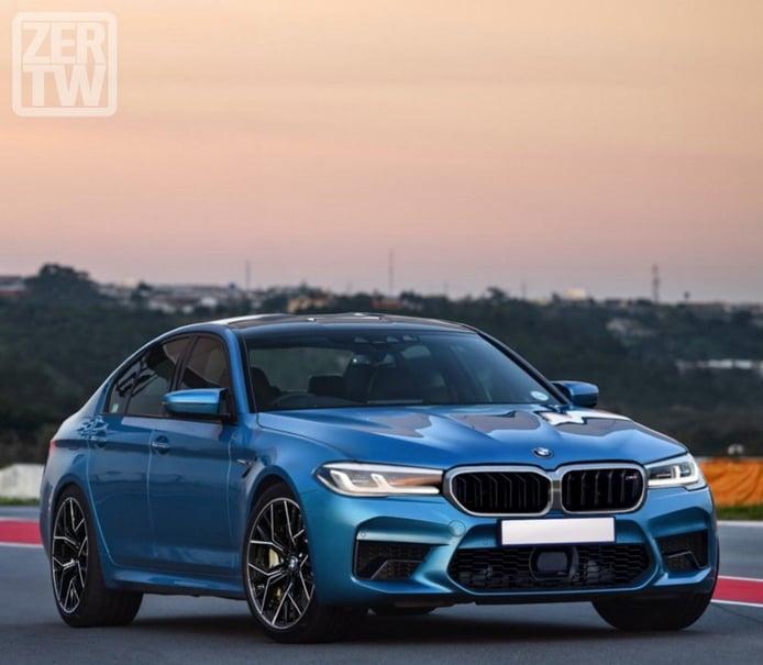 Los primeros renders del BMW M5 2021 muestran el facelift del Serie 5
