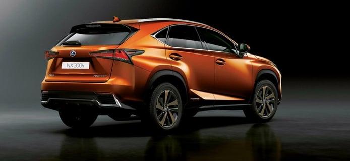 Lexus registra cuatro nombres comerciales para el NX 2021, híbrido enchufable incluido