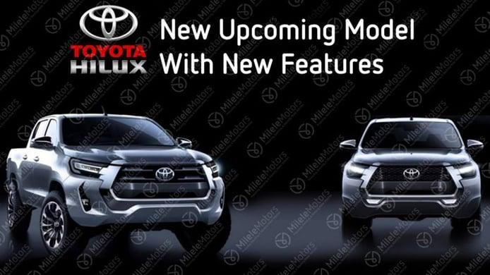 ¡Filtrado! El nuevo Toyota Hilux 2021 ha quedado totalmente al descubierto