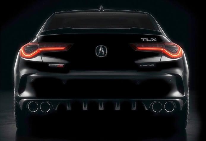 Acura nos muestra la primera imagen del TLX Type S 2021