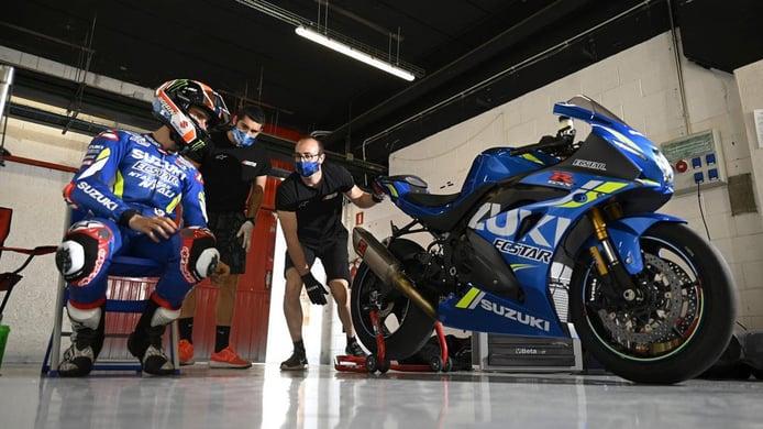 Álex Rins: «Prefiero que MotoGP compita directamente sin hacer test»