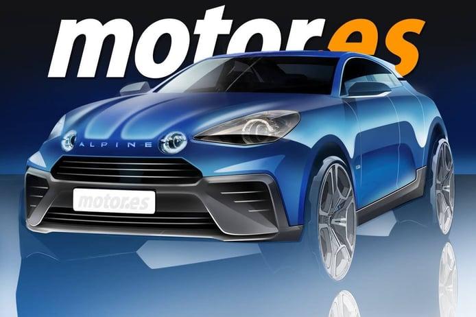 Alpine recupera el proyecto del SUV deportivo para 2024, eléctrico incluido