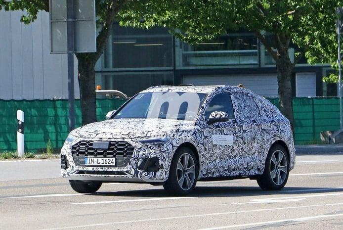 ¡Cazado! El Audi Q5 Sportback, un nuevo SUV Coupé, al detalle en estas fotos espía