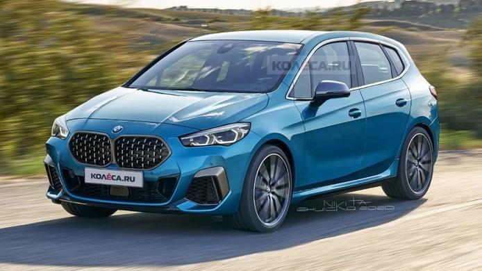 El BMW Serie 2 Active Tourer 2021 apostará por una estética más deportiva