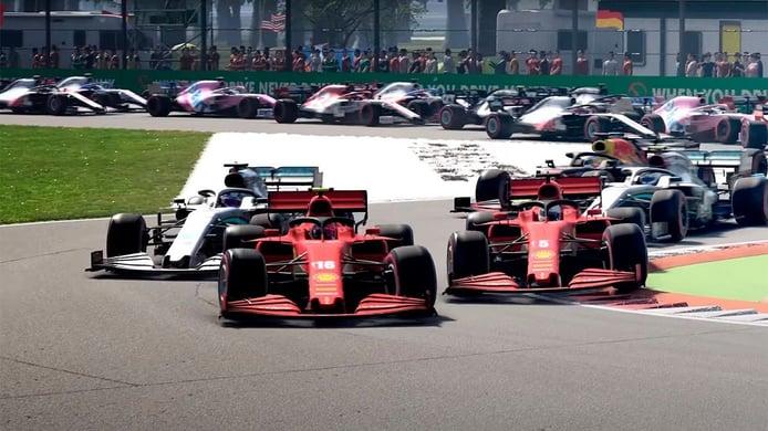 F1 2020 derrocha acción en su primer tráiler con imágenes gameplay