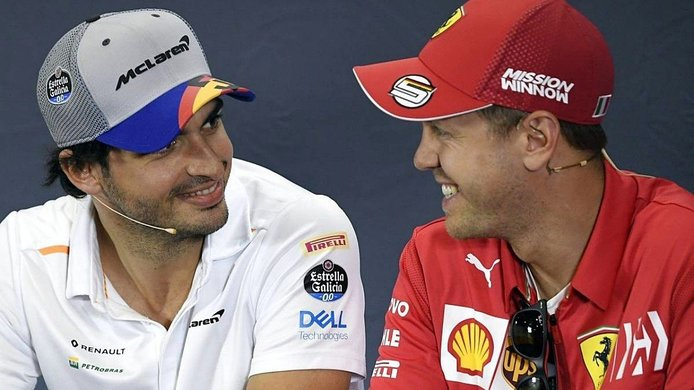 Ferrari le hace sitio a Sainz; confirma oficialmente que Vettel no renovará su contrato
