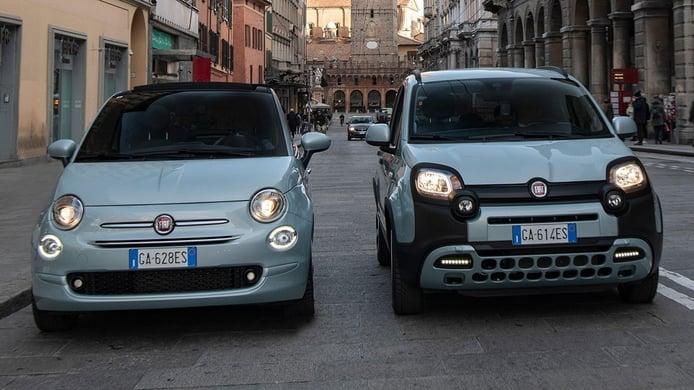 Los Fiat 500 y Panda Hybrid estrenan el paquete D-Fence para desinfectar el interior