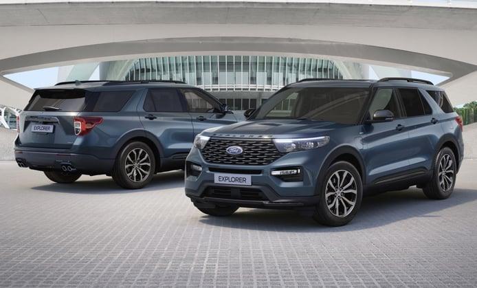 Las primeras unidades del nuevo Ford Explorer PHEV empiezan a llegar a concesionarios