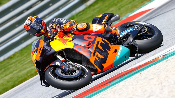 KTM realiza el primer test de MotoGP tras la crisis del COVID-19