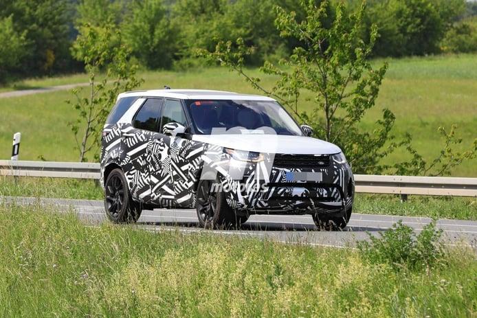 Land Rover prepara un discreto facelift para el Discovery, primeras fotos espía del SUV