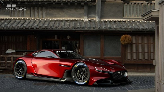 Mazda RX-Vision GT3 Concept, irrumpe una nueva bestia en Gran Turismo Sport