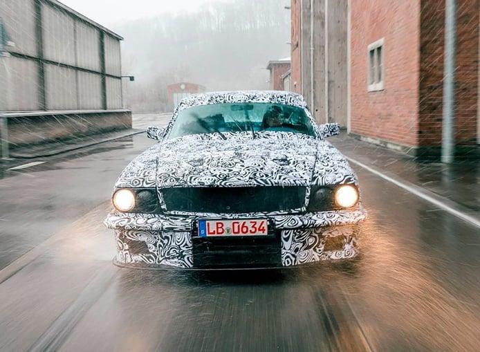 El restaurador Mechatronik da una nueva y larga vida al Mercedes C107